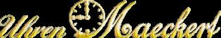 Uhren Maeckert - Logo